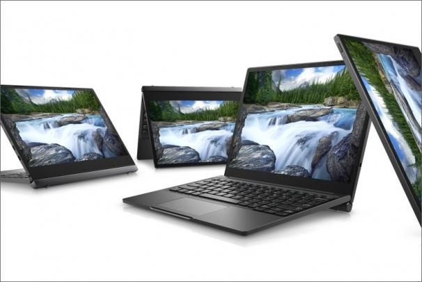 Dell představuje nová zařízení Latitude 2v1