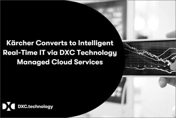 Kärcher přechází s pomocí DXC Technology na inteligentní IT s analýzou dat v reálném čase