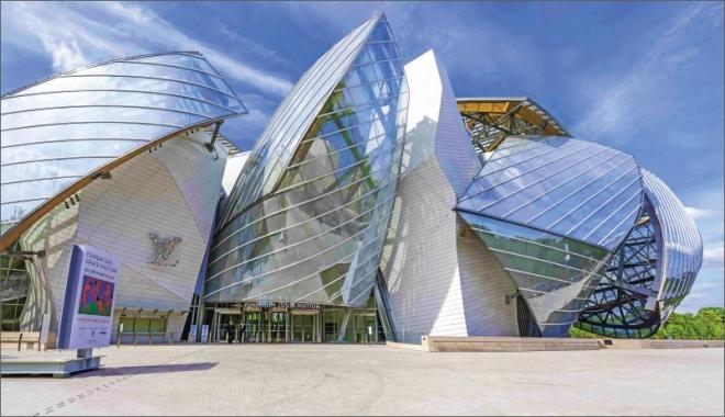 Budova Nadace Louise Vuittona
