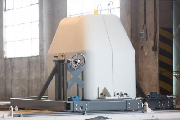 Stínicí sarkofág cyklotronu na výrobu radiofarmak