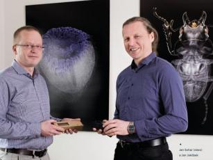 Ing. Jan Jakůbek, Ph.D., a Jan Sohar (vlevo)