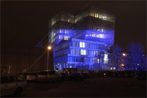 Nejnovější budovu ČVUT v Dejvicích čeká originální videomapping