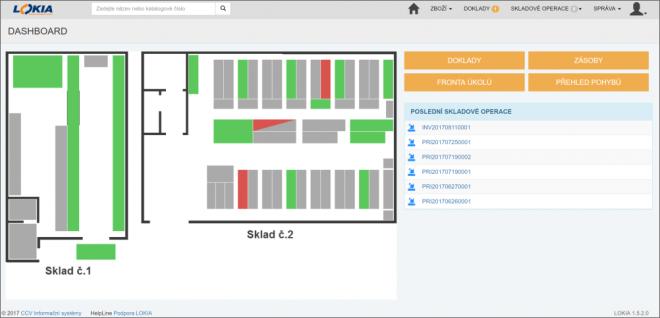 Lokia WMS pro řízení skladů přináší jednoduché nasazení a výrazné úspory v logistice