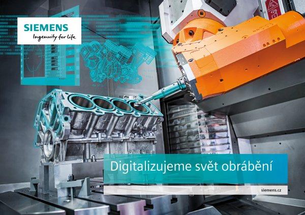 Český Siemens na veletrhu MSV 2017: Digitalizujeme svět obrábění