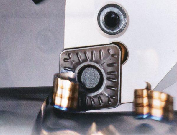 Obr. 3: Utvářeč R3P pro hrubování korozivzdorných ocelí (ISCAR)