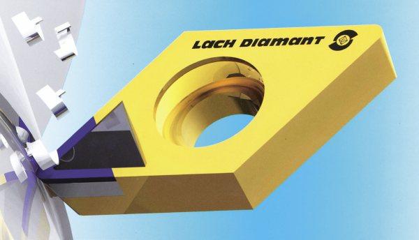 Obr. 7: VBD s PCD řezným elementem (Lach Diamant)