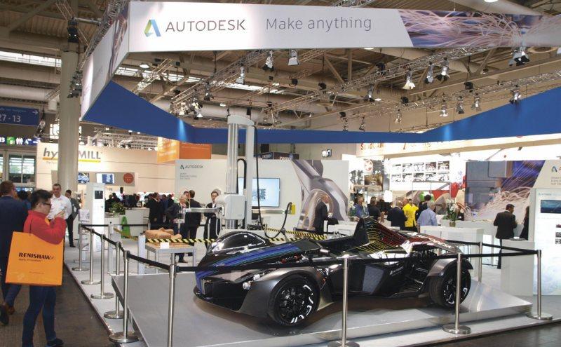 Možnosti aditivní výroby podporované svým softwarem demonstroval Autodesk na supersportovním vozidle BAC Mono Art Car