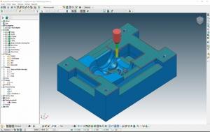 Rozdělení bodů NC dráhy v Autodesk PowerMill