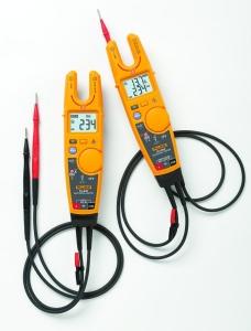 Moderní zkoušečky Fluke T6 umožňují bezpečné, rychlé a efektivní měření napětí a proudu