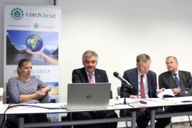 Setkání se zúčastnili zástupci členských firem CBCSD a zainteresovaná odborná veřejnost