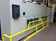 Equalizer s výkonem 1,5MVAr instalovaný ve svařovně