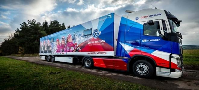 DB Schenker se stává oficiálním logistickým partnerem českého biatlonu