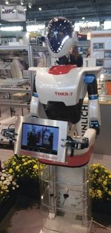 Roboty se ukazovaly i v jednotlivých expozicích MSV v Brně