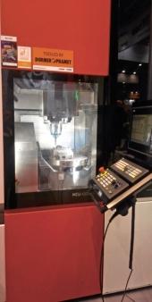 Jádro expozice Siemens tvořil v Brně prototyp nového obráběcího centra Kovosvit MAS