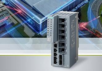 Bezpečnostní zařízení Scalance SC-600 nabízí ochranu na úrovni stroje / výrobní linky