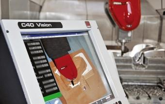 Antikolizní systém Vi-Mill na stroji FIDIA řady GTF