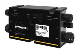 Nejmodernější doprava palet s řídicím systémem Interroll Pallet Control PC 6000