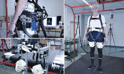 Náročné zkoušky exoskeletonu APO