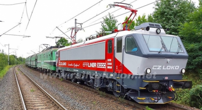 Elektrická lokomotiva EffiLiner 3000 (Autor: Robert Škrlant)