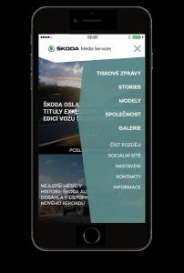 Aplikace ŠKODA Media Services v novém designu a s novými funkcemi