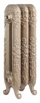Radiátory z produktové řady Dafne mají bohatý reliéfní dekor na jednotlivých článcích