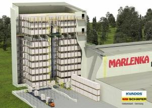 Největší ledničku v Marlence řídí WMS řešení myStock®