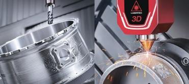 LASERTEC 65 3D hybrid kombinuje svařování laserem s pětiosým frézováním na jediné seřízení stroje
