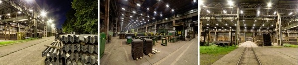 Nové inteligentní osvětlení v huti ArcelorMittal Ostrava