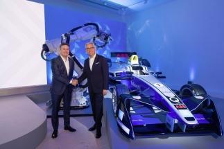 ABB a Formule E budou společně tvořit budoucnost e-mobility