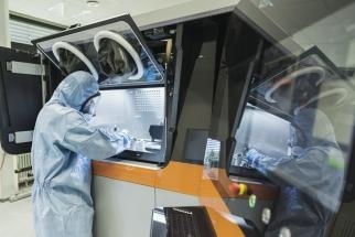 V Kompetenčním centru Siemens v Erlangenu se vyrábějí technologií 3D tisku náhradní díly pro kolejová vozidla