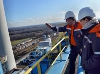 Nejpopulárnější část exkurzí – výhled ze střechy elektrárny je nejen na celý areál, ale za dobrého počasí taky na Beskydy, Jeseníky i do Polska