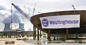 Symbolem nejistých vyhlídek jaderné firmy Westinghouse je i zastavená, a nyní alespoň dočasně znovuobnovená stavba dvou reaktorů v americkém státě Georgia