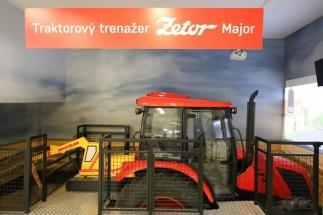 Traktorový simulátor je na území ČR ojedinělou atrakcí
