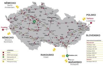 Dial Telecom rozšířil DWDM síť o novou trasu do Brna – Boskovic