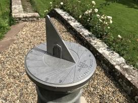 Sluneční hodiny pro zámek Berkeley v Gloucestershire ve Velké Británii