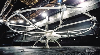 Volocopter jako aerotaxi bez taxikáře