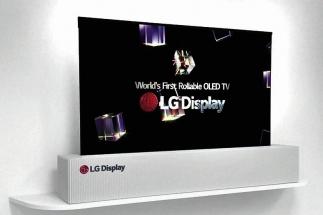 Svinovací televize LG