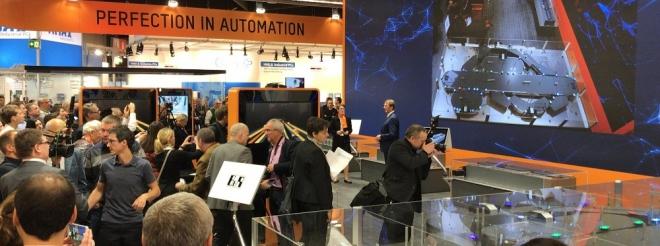 Na veletrhu SPS IPC Drives v Norimberku představila společnost B&R novinky pro rok 2018