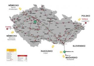 Celoplošný upgrade páteřní sítě v České republice má za cíl zvýšit stabilitu a kvalitu síťových parametrů