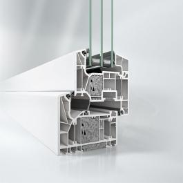 Nový okenní systém Schüco LivIng Alu Inside s patentovanou technologií hliníkové výztuhy v provedení s certifikací od Passive House Institut.