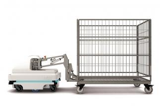 MiR100 a MiR200 jsou plně autonomní, kolaborativní mobilní roboty s vestavěnou inteligencí