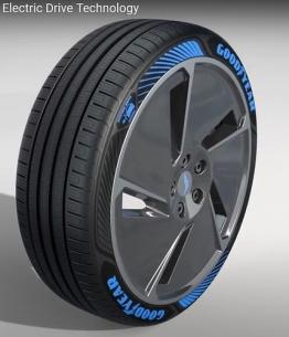 Goodyear představuje novou technologii pneumatik pro elektromobily