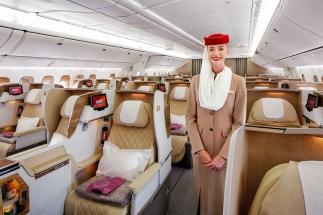 Emirates představila prostornější sedadla v Business Class svých Boeingů 777