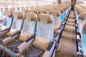 Řazení sedadel v Economy Class