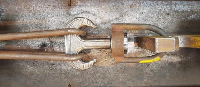 Foto_První jeřábový hák vyrobený technikou 3D tisku ve společnosti Huisman