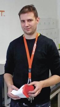 Zástupce ředitele SPŠ na Proseku Ing. Lukáš Procházka