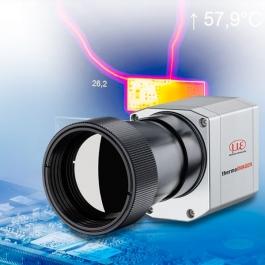 Mikroskopická optika pro měření teploty malých objektů