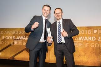 Bravo pro systémy Schüco při udílení iF Design Awards 2018