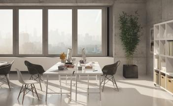Zlaté ventilační designové řešení pro větrání i ve městech