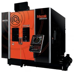 Model VARIAXIS j-600/5X AM je vybaven hlavou pro aditivní výrobu na 5osém vertikálním obráběcím centru, což umožňuje vysokorychlostní aditivní výrobu.